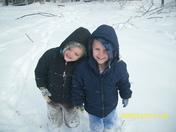 my lil snow angels