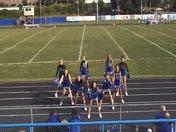 Reading Middle School 7th Grade Cheerleaders