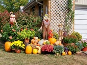 Neighbor's Halloween Display