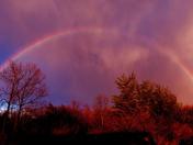 Rainbow over Lebanon