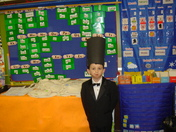Andrew Nixon as Abe Lincoln