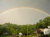 Rainbow over Birchdale Ct.JPG