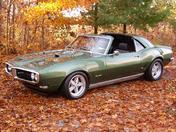 1968 Pontiac Firebird Targa Top