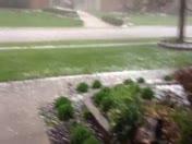 Maineville hail