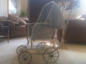 rummage sale - antique baby buggie.jpg