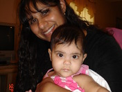 Adalia and Mommy!