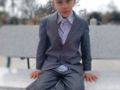G in a suit