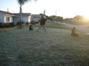 sledding in Florida.JPG