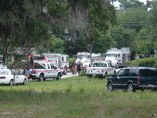 House destroyed by fire in Lake Helen, Florida