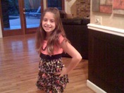 Martha Sugalski's daughter, Spencer, on her first day of 4th grade.