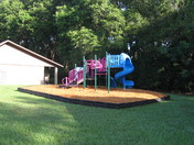 New Playground at Meadowfield Apartments in Belleview,Florida.-By Devin K.Turner