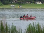 Fuel spill on Lake Sherwood 2