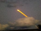 shuttle launch 03-15-09