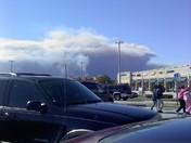 Palm Bay brush fire