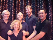 """Technical Crew  of """"Stepping Out"""" playing at the Waterfront Playhouse in the Flo"""