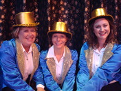 """Part of the cast of """"Stepping Out"""" playing at the Waterfront Playhouse in the Fl"""