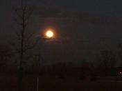 tonights full moon display