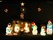 Gacesa Family Christmas Light Display