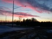 New Berlin sunset