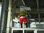 Santa at the Merrimack tools