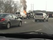 Car crash on rte. 3 south at rte 128