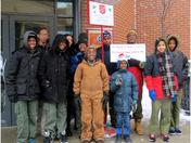 Milwaukee Scouts Ring the Salvation Army Bell!