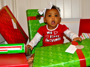 Kailey Jade's First Christmas