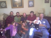 Four generations together for Christmas
