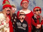 """Our """"Ugly Sweater"""" Christmas Family Photo!"""