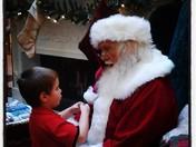 Rylan meets Santa