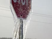 """""""Frozen Stop Sign"""""""