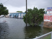 Flooding off Nova Road, South Daytona