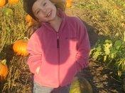 Maddison @ a Pumpkin Field