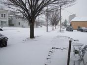Snow at 8:30 am
