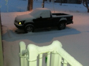 2 1/2 inches last night