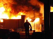 North Wilkesboro Fire Department and surrounding departments battle massive fire