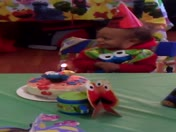 My nephew falling at his first birthday party