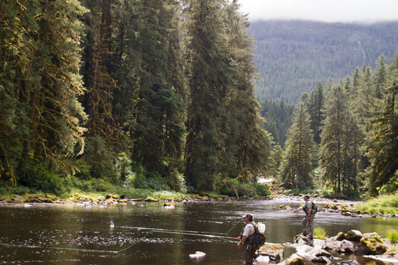 Share the experience tongass national forest karta lake for Prince of wales island fishing