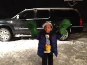 Blount Productions : Harlem Shake in the snow!!!