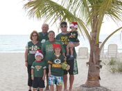 Christmas wish for the Packers from the Bahamas