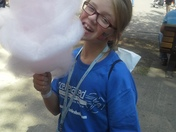 Iowa State Fair Cotton Candy 2013