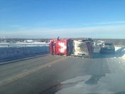 Rouses Point Bridge Rollover