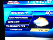 I found a TYPO on sun nite at 11 news!!