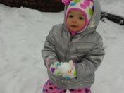 Mackenzie's First Snow