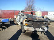 truck stolen and burned