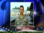 Holiday Greeting: Air Force Airman 1st Class Justin Bleich