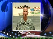 Military Greeting: Army Lt. Col. Maureen Bessingpas