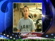 Military Greeting: Army Spc. Shirlene Colon