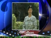 Military Greeting: Army Sgt. 1st Class Freida Carter