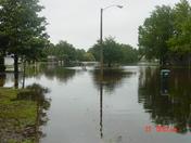 Flooding Georgetowne Subdivision Daytona Beach
